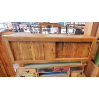 Rack Rústico Retrô com Portas de Correr 1,60 em Madeira de Demolição - 10091