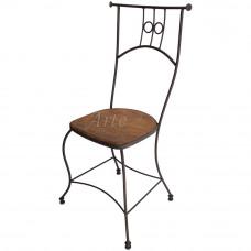 Cadeira em Ferro com Madeira - 4917