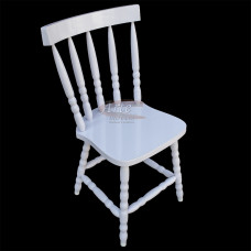 Cadeira G Branca Laqueada em Taeda - 5132