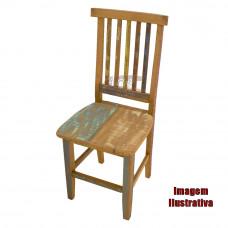 Cadeira Mineira 0,40 x 0,40 Rústica com  tinta - 514
