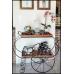 Carrinho de Chá em Ferro com Madeira - 4705