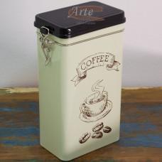 """Pote Vedado """"Coffee"""" em Metal - ST1168C"""