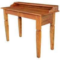 Aparador Rústico / Escrivaninha 1,20 x 0,50 com Gaveta em Peroba Rosa - 84480