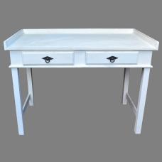 Escrivaninha 1,10 x 0,60 Branco Provençal - 323