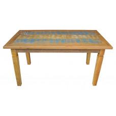 Mesa 1,60 x 0,80 Com Tinta em Peroba - 4144-2