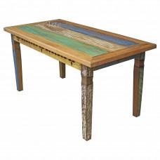 Mesa 1,60 x 0,90 Entalhada com Tinta em Peroba - 4487-3