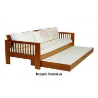Sofá Cama com cama Auxiliar / Bicama Aplainada - 830