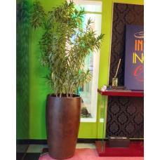 """Vaso nº 7 estilo """"Copo"""" com pintura texturizada tipo """"Cobre"""" - 49634"""