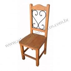 Cadeira de Madeira c/ ferro- 1810