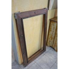 Moldura de madeira c/ ferro nas laterais- 2749