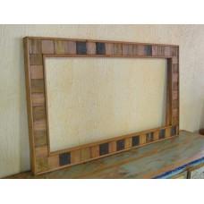 Moldura em madeira de demolição 1,20- 2737
