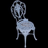 Cadeira Chinesa em Alumínio Fundido - 1927