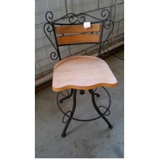 Cadeira Giratória Rustica - 1617