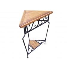 Cantoneira de madeira com ferro- 433