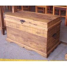 Baú em madeira de demolição 0,80- 57