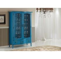Cristaleira Alta Azul - 3262