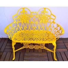 Namoradeira Viena Floral - Amarelo - 2688