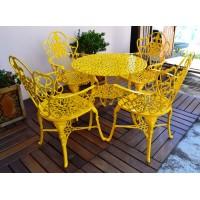 Mesa Viena 0,80 - Amarelo - 2689