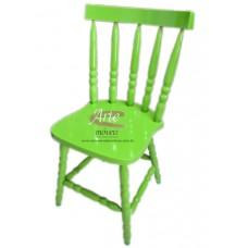 Cadeira Country G Laqueada Verde em Taeda - 4671
