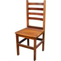 Cadeira Anatômica Mel em Madeira de Lei - 3116