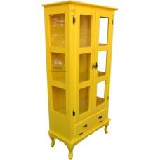 Cristaleira Amarela 0,80 x 0,40- 4493