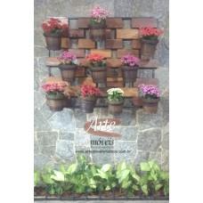 Floreira ferro c/ madeira 1,17 x 0,26-4604