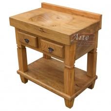 Pia em madeira de Cerejeira - 4703